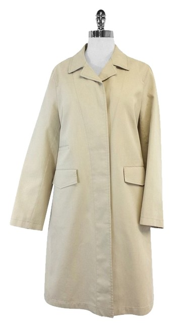 Preload https://item3.tradesy.com/images/burberry-beige-classic-straight-cut-trench-coat-size-8-m-12013732-0-1.jpg?width=400&height=650