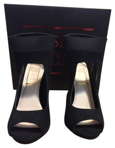 Desire by Jacobies Heels Sexy Black Platforms
