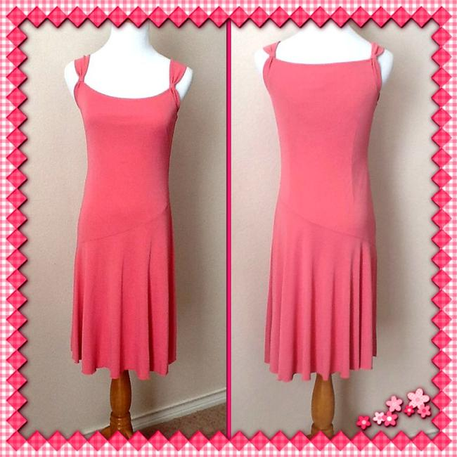 Ann Taylor LOFT short dress Salmon pink on Tradesy