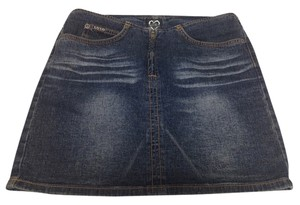 XOXO Denim Mini Jean Mini Skirt