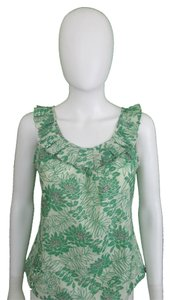 Vera Wang Lavender Label Top Green