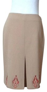 Ann Taylor LOFT Skirt Light tan