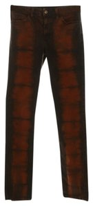 American Apparel Women's Skinny Jeans-Distressed