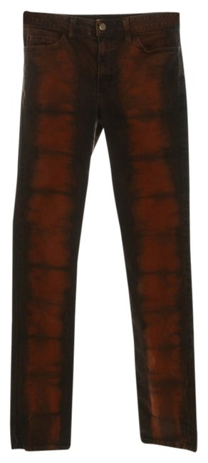 Preload https://item4.tradesy.com/images/american-apparel-tie-dye-orange-and-black-distressed-stretch-twill-slim-lite-skinny-jeans-size-28-4--12017773-0-1.jpg?width=400&height=650