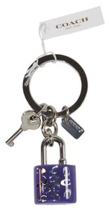 Coach Coach key chain lock