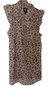 Bobeau Top animal print