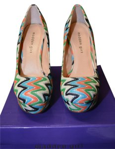 Madden Girl Zigzag New Platform Chic Pumps
