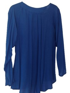 Saks Fifth Avenue Top blue