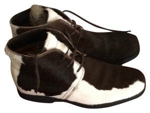 Tod's Dark brown and white Boots