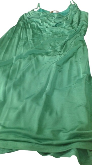 Item - Green Made In Italy Or Short Dress Tank Top/Cami Size 8 (M)