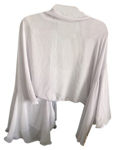 Mall brand New light gray sheer shawl