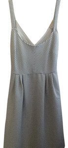 Anthropologie short dress Black and white stripe on Tradesy