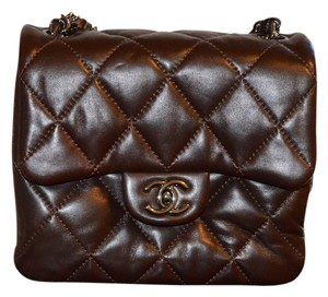 Chanel Mini Flap Quilted Lambskin Cross Body Bag