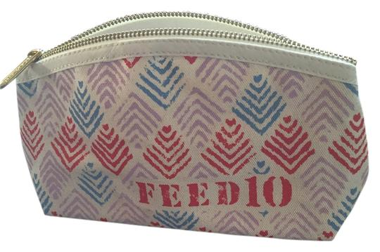 Preload https://item2.tradesy.com/images/canvase-red-blue-clarins-cosmetic-bag-12019111-0-1.jpg?width=440&height=440