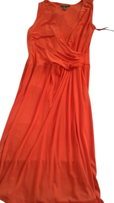 Preload https://img-static.tradesy.com/item/12019162/ralph-lauren-red-knee-length-night-out-dress-size-12-l-0-1-650-650.jpg
