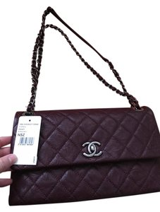 Chanel Made In Italy Leather Shoulder Bag