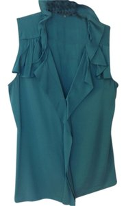 T Tahari Top Green