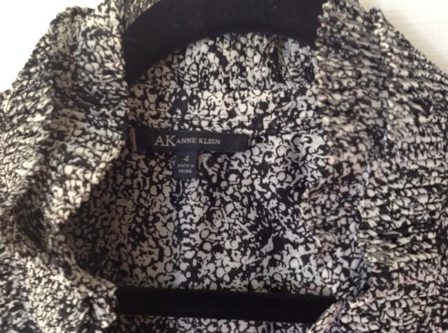 Anne Klein Top black white