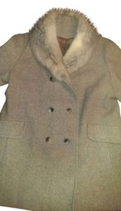 Vintage Fur Wool Fur Coat