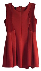 Wish short dress Red on Tradesy