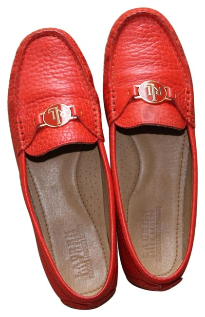 Item - Bright Red Carley Loafers Flats Size US 7.5 Regular (M, B)