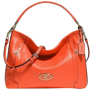 Coach 34312 Scout Pebbled Leather New With Tags Hobo Bag