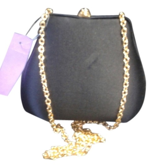 Preload https://img-static.tradesy.com/item/12020836/small-evening-with-chain-strap-black-crepe-over-hardshell-shoulder-bag-0-1-540-540.jpg