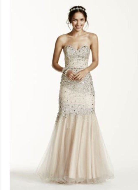 David's Bridal (glamour by Terani Couture) Dress