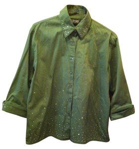 Christine Alexander Top Sage Green