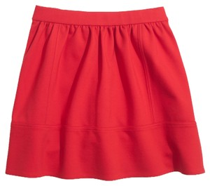 Madewell Casual Summer Mini Skirt Red