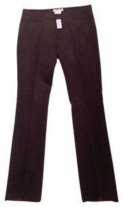 Vertigo Straight Pants Chocolate Brown