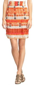 Banana Republic Ikat Skirt Orage pink