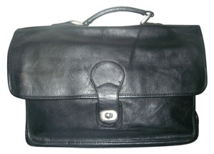 Wilsons Leather Black Travel Bag