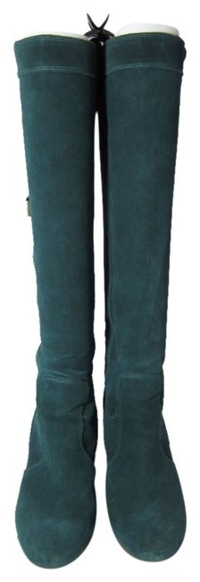 Item - Teal Nico Suede Boots/Booties Size US 6 Regular (M, B)
