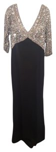 Terani Couture Mother Of The Bride Classic Crystal Sleeves Dress