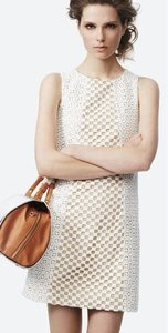 Tibi Sonoran Eyelet Seamed Dress