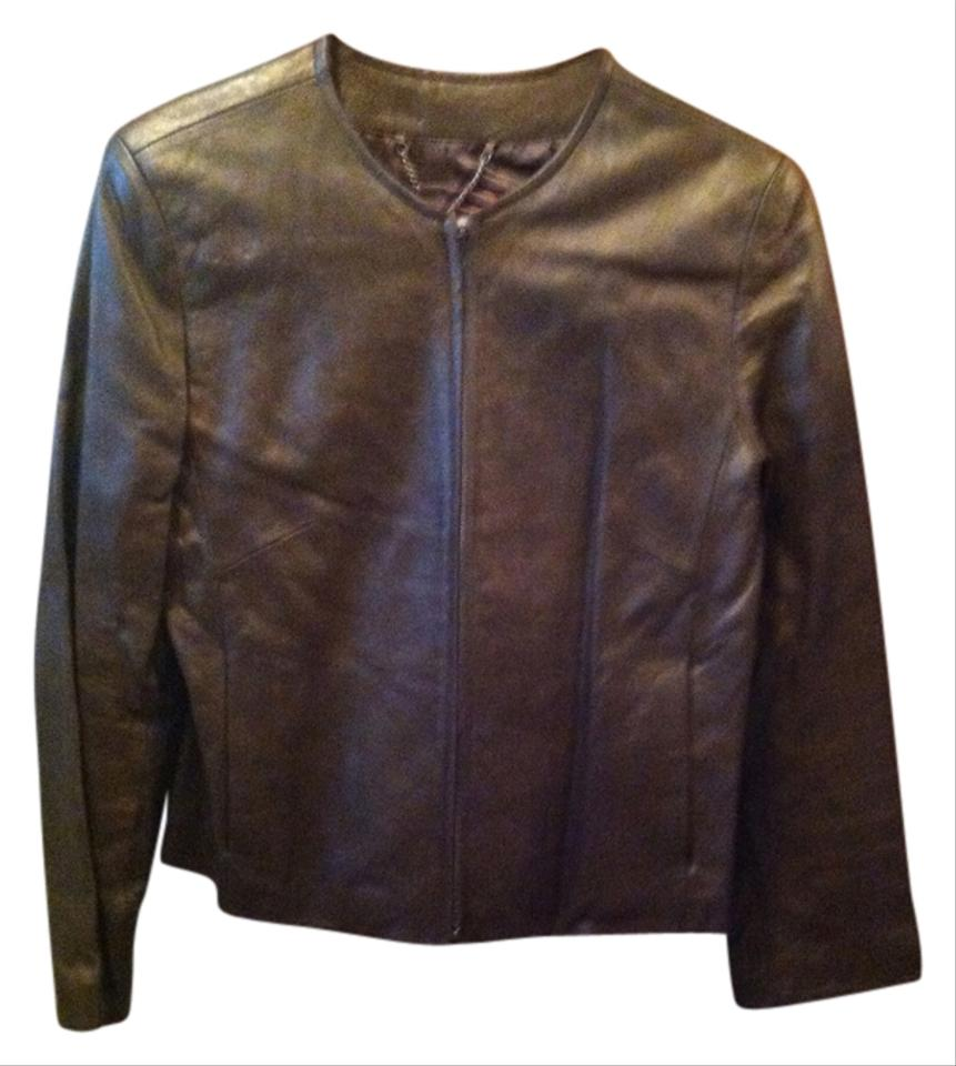 Stone mountain leather jacket