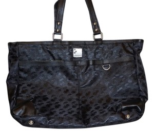 Cherrie T. Tennis Weekend Designer Tote in Black