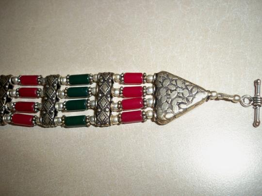 Other Fancy Native American Silver Bracelet