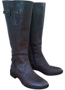 Ecco Riding Dark Brown Boots