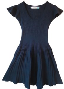 Anthropologie short dress Navy Sparrow Sweater Knit on Tradesy