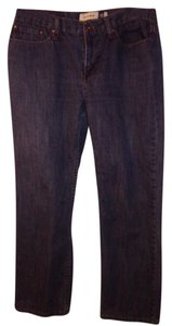 "Anchor Blue 32 X 27"" Straight Leg Jeans-Medium Wash"
