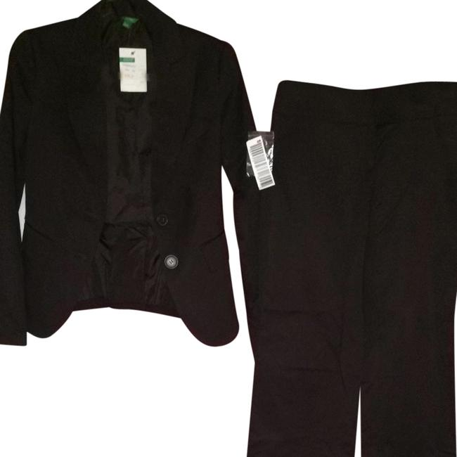 United Colors of Benetton Dark Brown Pants Suite