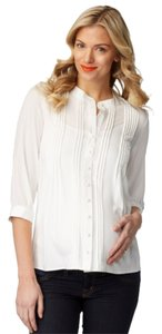 Rosie Pope Button Down Shirt Ivory