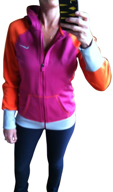 Item - Pink and Orange Activewear Outerwear Size 12 (L, 32, 33)