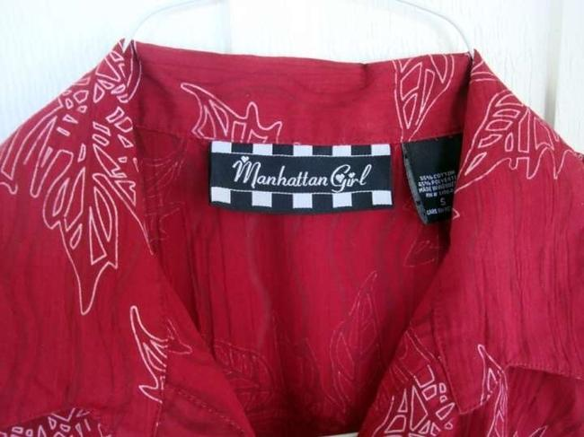 Manhattan Girl Top Red