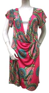 Britt Ryan short dress Multi-color Silk Knit on Tradesy