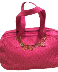 Bottega Veneta Satchel in hot pink