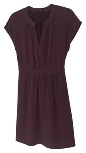Madewell short dress Purple on Tradesy
