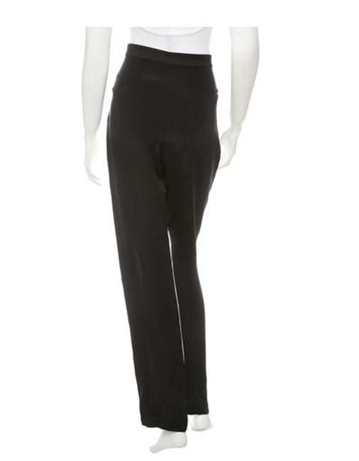 Christopher Esber Straight Pants Black and White
